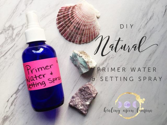 How to make your own makeup setting spray