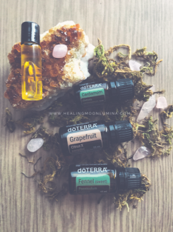 confidence essential oil blend for empaths